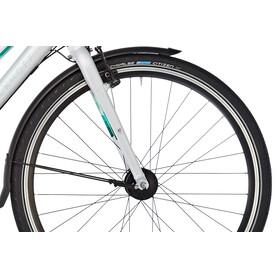 Kalkhoff Durban 27 - Vélo de ville Femme - Trapez gris/argent